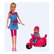 Lutka sa skuterom