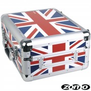 Zomo Universal Case CDJ-1 UK Flag para repdoductor de CD / Mesa de mezcla 12""