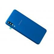 Tampa traseira azul para Samsung Galaxy A50 A505F