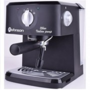 Ръчна еспресо машина Rohnson R 971, 950 W, 15 bar, функция гореща пара/гореща вода, светлинен индикатор за загряване на чашите, черна