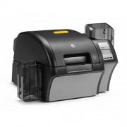 Imprimanta de carduri Zebra ZXP9, single side, MSR, LCD, LAN