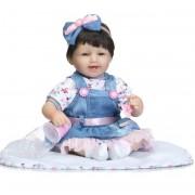 Bébé Reborn Silicone Reborn Poupées Baby Alive Enfants Jouets Doux Poupée Reborn Cadeaux Boneca Reborn Realista 18 Pouces Juguetes Brinquedos