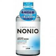 LION «Nonio» Профилактический зубной ополаскиватель, аромат трав и мяты, 600 мл.
