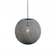 QAZQA Pendant Lamp Corda 35 Grey