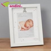 Rama foto Bambino Ivory Argintata 10x15