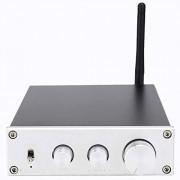 Zopsc 160Wx2 Bluetooth4.2 Amplificador de Alta fidelidad APTX Puerto de Audio RCA Soporte RCA Integrado Salida de Altavoz de Oro para Cine en casa(Astilla US)