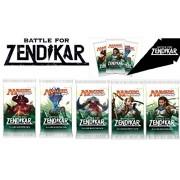 6 (Six) Packs of Magic: the Gathering - MTG: Battle for Zendikar Booster Pack Lot (6 Packs)