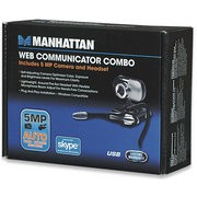 Manhattan Web Camera & Headset combo set, Retail