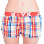 Styx Dámské trenky Styx sportovní guma vícebarevné (T621) XL