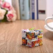 ER Color De Nieve-pintura Cubo Ilimitado Cuadrado Mágico El Alivio Del Estrés Adulto Para Niños