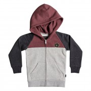 Quiksilver Mikina Quiksilver Sun Melt Zip Boy dark grey heather