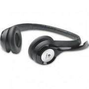 слушалки с микрофон Logitech USB Headset H390 - 981-000406