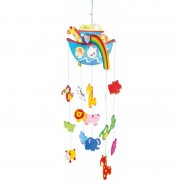 Small Foot Hangdecoratie mobiel Ark van Noach voor jongens