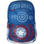 Skybags Sb Marvel Plus Cap Am 01 Blue 25 L Laptop Backpack(Multicolor)