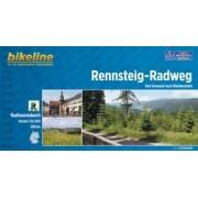 Fietsgids Bikeline Rennsteig-radweg   Esterbauer