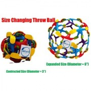 Colourful Size Changing Throw and Catch Ball for Kids (Set of 2)