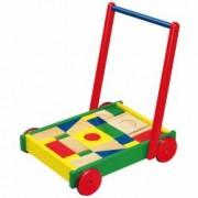 Antemergator Viga Toys cu cuburi