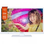 Televizor LED Horizon 24HL711H, HD Ready, 100 Hz, alb