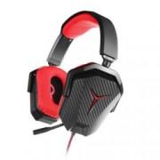 Слушалки Lenovo Y Stereo, микрофон, геймърски, черен/червен