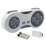 iMW Wireless Gaming Controller for NES Super NES Classic Edition, Grey Super NES;