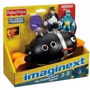 Imaginext Super Friends Penguin and Batman