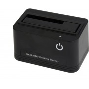 Gembird HD32-U2S-4 basisstation voor opslagstations USB 2.0 Type-A Zwart