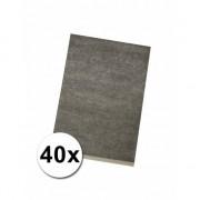 Rayher hobby materialen Transferpapier carbon A-4 40 stuks