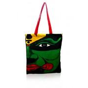 Pick Pocket Women's Tote Bag ( Green,tokatha 42)