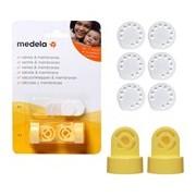 Pack 2 válvulas 6 membranas de vácuo - Medela