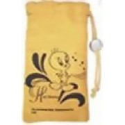 Tweety Cell phone Pouch :MUSTARD