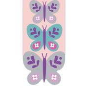 Magnetische boekenlegger: Vlinders