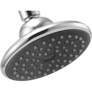 Touch Black Bell 5 Inch Round Overhead Shower