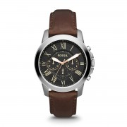 Часовник FOSSIL - Grant FS4813 Dark Brown/Silver/Steel