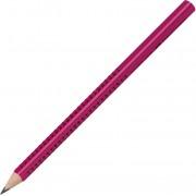 Creion cu mina grafit, HB, blackberry, FABER CASTELL Jumbo Grip