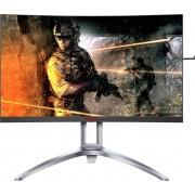 AOC AG273QCX Curved-Gaming-Monitor (2560 x 1440 Pixel, WQHD, 1 ms Reaktionszeit, 144 Hz), Energieeffizienzklasse B