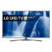 "Smart TV LG 65UM7610 65"" 4K Ultra HD LED WiFi Argintiu"