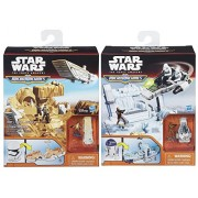 Star Wars The Force Awakens Micro Machines R2-D2 Episode VII Playset & Storm Trooper Battle 2 Pack