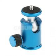 ELECTROPRIME� 360° Rotatabale 1/4 inch Aluminum Mini Ball Head Tripod Mount Stand Adapter