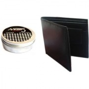Combo of MG5 Hair Wax Japan Designer Wallet for Men