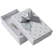 JK Box Puntíkatá krabička na soupravu šperků KK-6/A1