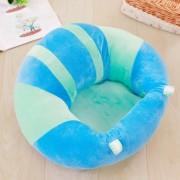 EH Respaldo Asiento Silla De Comedor Bebé Almohada Cojín Asiento De Bebé Abrazo En Forma De U - Verde Azul