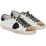 Philippe Model Leather Sneakers White