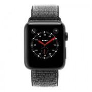 Apple Watch Series 3 aluminiogehäuse gris 42mm con Sport Loop olivverde (GPS +