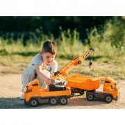 Polesie Toy Volvo Crane Lorry Orange 1450680