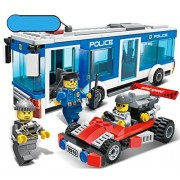 Imported and new Police Station Building Blocks Bricks Educational Toys Compatible with Legoe city Birthday Gift Toy