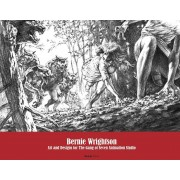 Bernie Wrightson: Art and Designs for the Gang of Seven Animation Studio, Hardcover