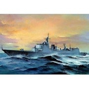 Trumpeter 1/350 Scale Pla Chinese Lanzhou Ddg170 Type 052c Destroyer [Toy] (Japan Import)