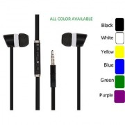 99 DEALS Premium Quality 3.5mm Jack Stereo Microphone Mic Earbuds Piston Earphone Compatible For Micromax A94 Canvas Mad