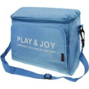 Italish Food and Beverage Fruit Storage Bag Outdoor Travel Camping Car Seat Back Holder Organizer(Blue)