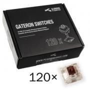 Switch-uri pentru tastatura mecanica Glorious PC Gaming Race Gateron Brown (120 buc)